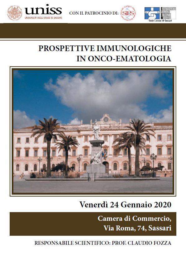 Prospettive immunologiche Sassari 24_01_20