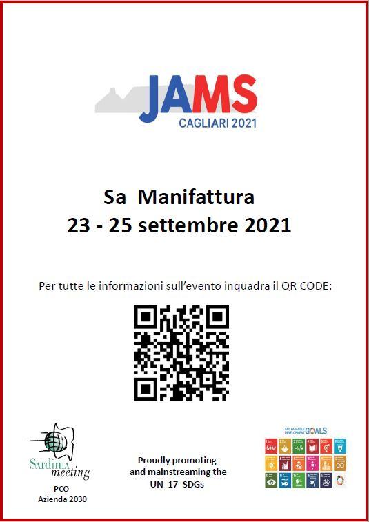 Locandina JAMS2021